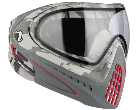 Dye Tactical i4 Thermal Full Face Mask Goggle System ( Airstrike Red )