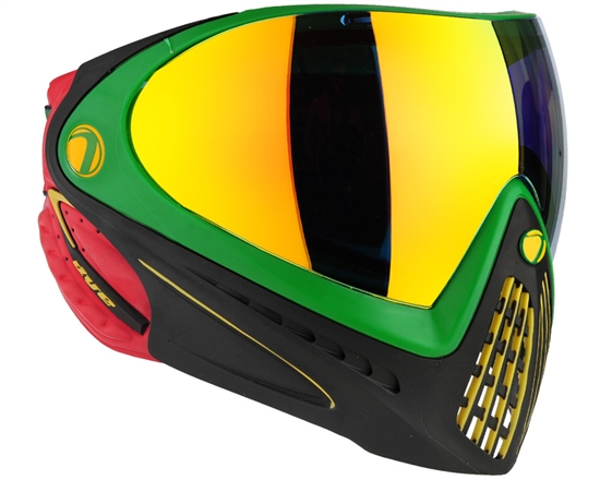 Dye Tactical i4 Thermal Full Face Mask Goggle System ( Rasta )