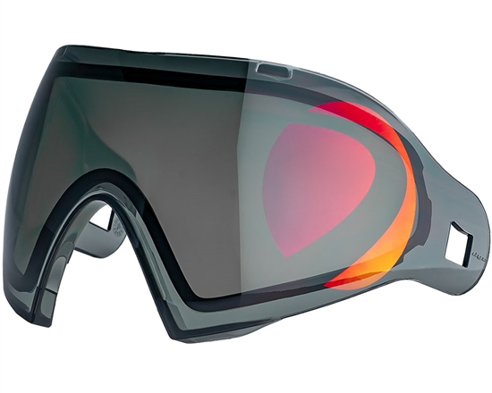 Dye Precision Dual Pane Anti-Fog I4/I5 Mask Lens - Dyetanium 2D Smoke/Northern Fire