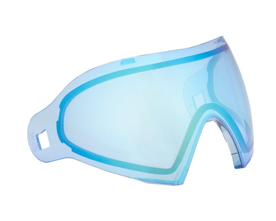Dye Precision Dual Pane Anti-Fog Ballistic Rated Thermal Lens For i4/i5 Masks (Dyetanium Blue Flash)