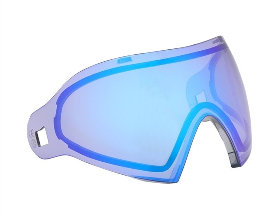 Dye Precision Dual Pane Anti-Fog Ballistic Rated Thermal Lens For i4/i5 Masks (Dyetanium Blue Ice)