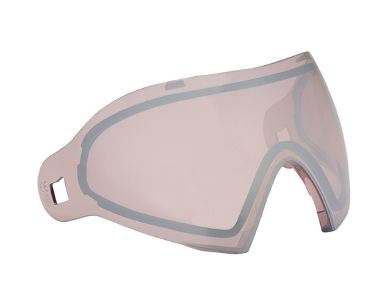 Dye Precision Dual Pane Anti-Fog Ballistic Rated Thermal Lens For i4/i5 Masks (Dyetanium Rose Silver)