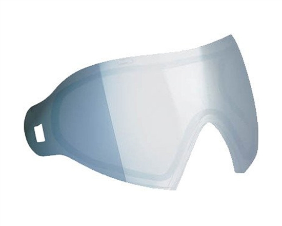 Dye Precision Dual Pane Anti-Fog Ballistic Rated Thermal Lens For i4/i5 Masks (Smoke Silver)