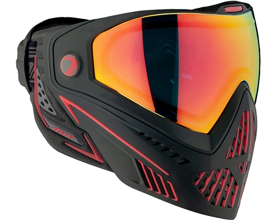 Dye Tactical i5 2.0 Thermal Full Face Mask Goggle System - Fire