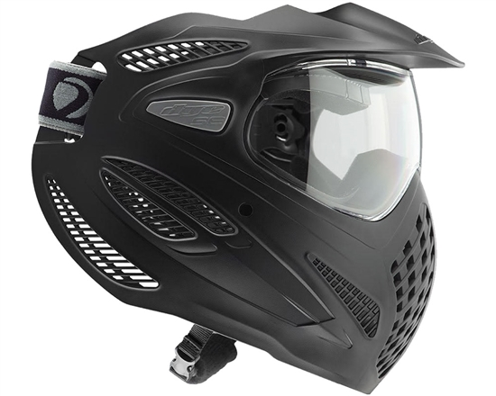 Dye Tactical SE Single Full Face Mask Goggle System ( Black )