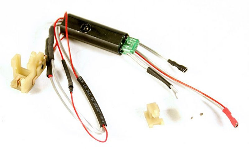 ECHO M16 WH MOSFET 2 echo1 wiring harness w mosfet for m16 rear wired v2 gearbox airsoft wiring harness at n-0.co