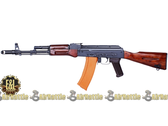 EL-A102 E&L AK-74N Full Steel Wood Airsoft Gun A102 AEG Rifle