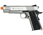 Elite Force 1911 Tac CO2 Airsoft Pistol Blowback Hand Gun - Silver
