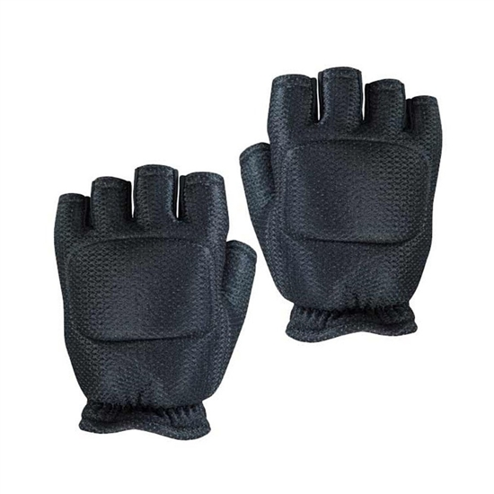 Empire Battle Tested Soft Back Fingerless Tactical Airsoft Gloves - Black