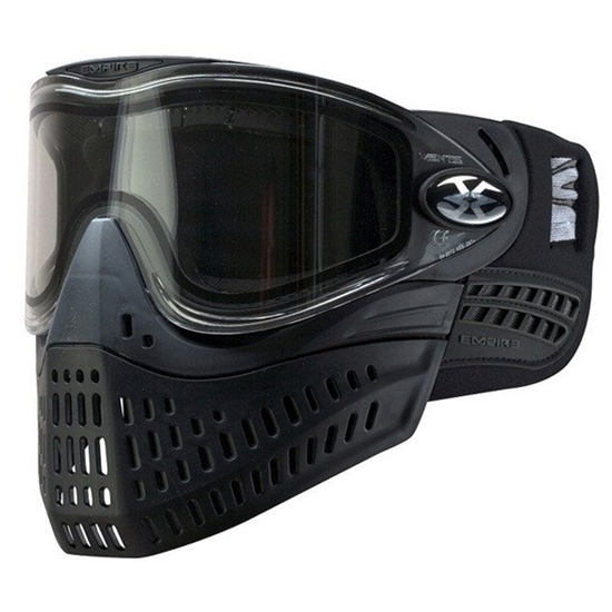 Empire Tactical E-Flex Full Face Airsoft Mask - Black