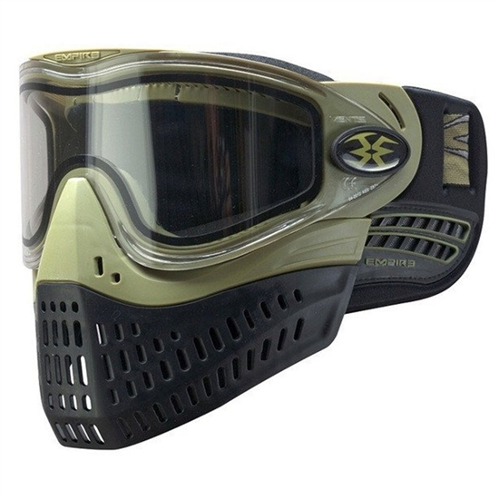 Empire Tactical E-Flex Full Face Airsoft Mask - Olive