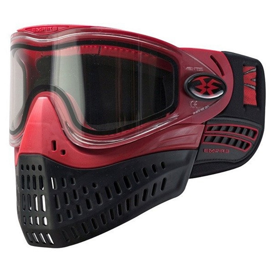 Empire Tactical E-Flex Full Face Airsoft Mask - Red