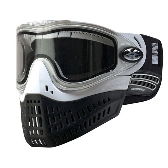 Empire Tactical E-Flex Full Face Airsoft Mask - White