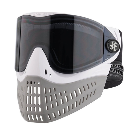 Empire Tactical E-Flex Full Face Airsoft Mask - White/Grey