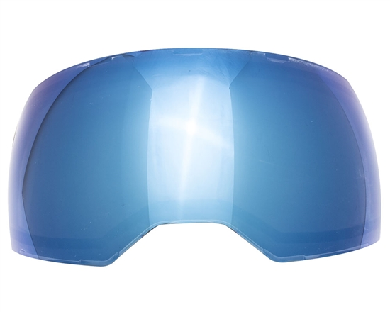 Empire Dual Pane Anti-Fog Ballistic Rated Thermal Lens For EVS Masks (Blue Mirror)
