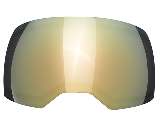 Empire Dual Pane Anti-Fog Ballistic Rated Thermal Lens For EVS Masks (Gold Mirror)