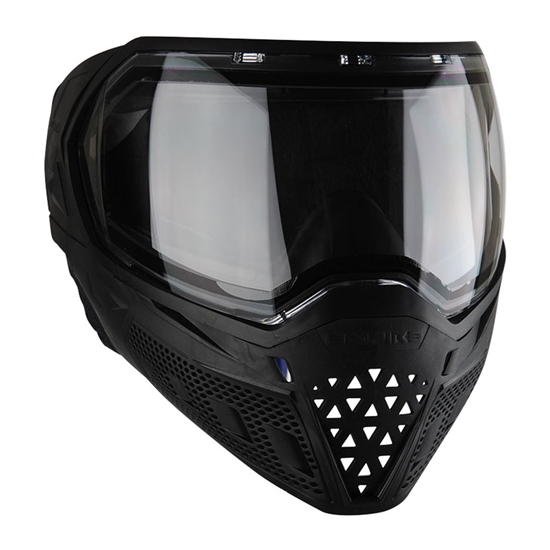 Empire Tactical EVS Full Face Airsoft Mask - Black/Black