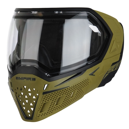 Empire Tactical EVS Full Face Airsoft Mask - Green/Black