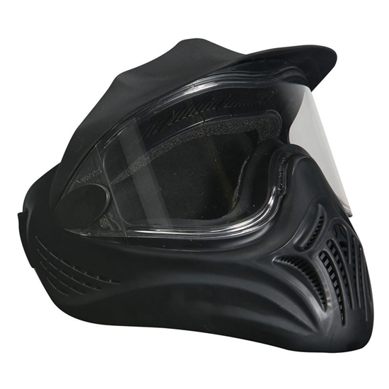 Empire Tactical Helix Full Face Airsoft Mask w/ Single Lens - Black