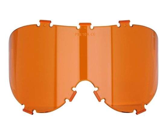 Empire Single Pane Anti-Fog Ballistic Rated Lens For X-Ray Masks (Orange) (21440)
