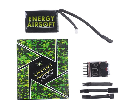 Energy LiPo 7.4v 1500mAh Battery
