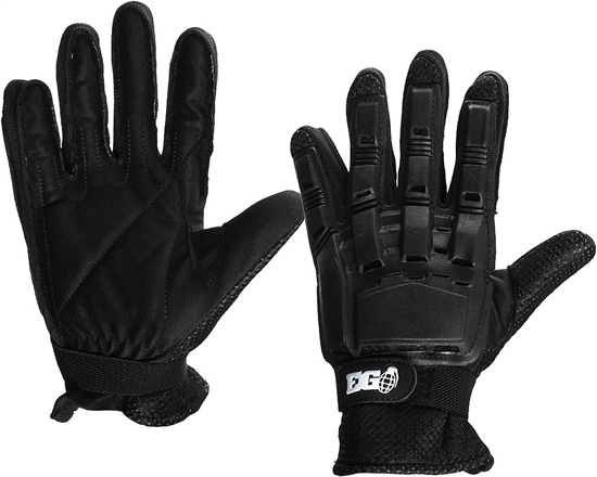 Enola Gaye Full Finger Tactical Airsoft Gloves - Black