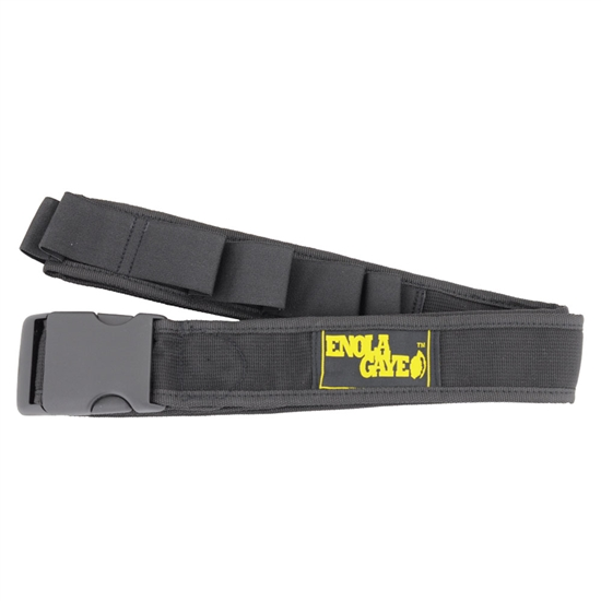 Enola Gaye Hang Ten Adjustable Belt For Smoke Grenades - Black