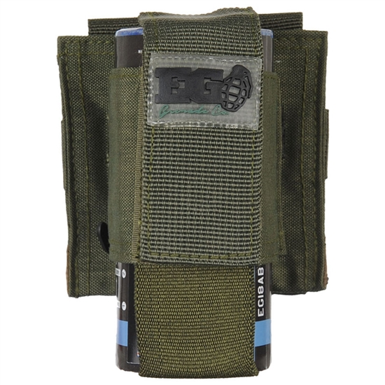 Enola Gaye Single Pouch For EG18 Smoke Grenades - Olive