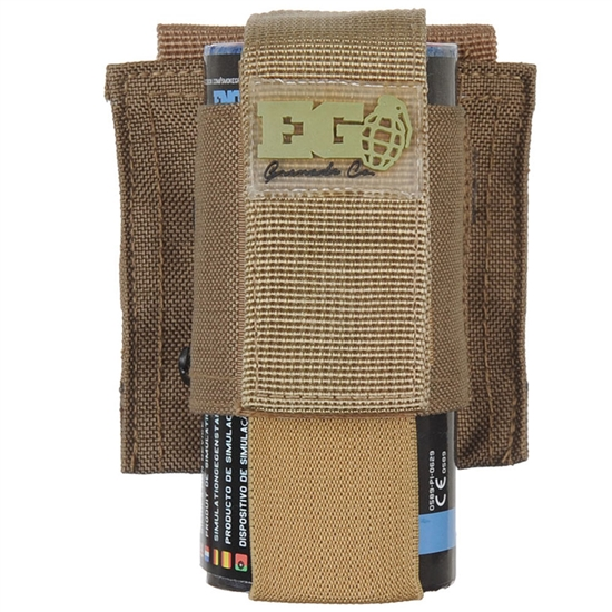 Enola Gaye Single Pouch For EG18 Smoke Grenades - Tan