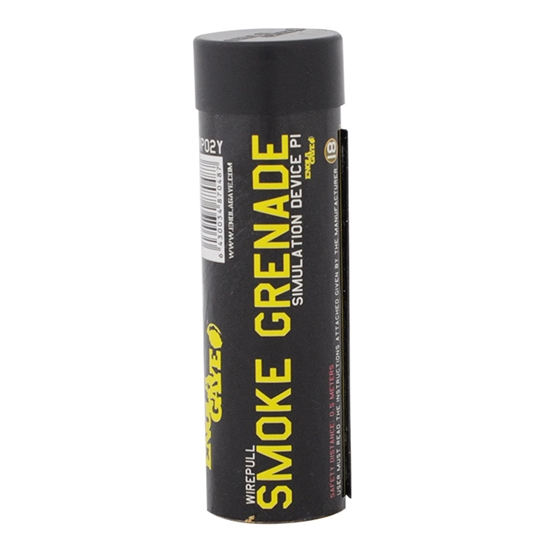 Enola Gaye Smoke Grenade - Wire Pull Style - Yellow Smoke