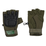 Exalt Hard Shell Tactical Airsoft Gloves - Olive