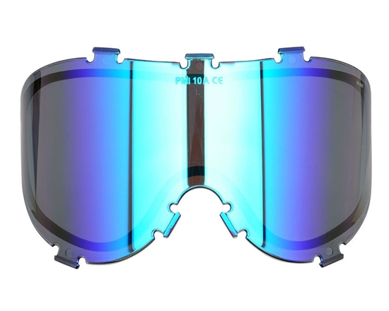 Empire Dual Pane Anti-Fog Ballistic Rated Thermal Lens For X-Ray Masks (Blue Revo) (21460)