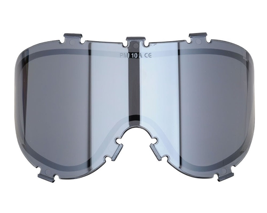 Empire Dual Pane Anti-Fog Ballistic Rated Thermal Lens For X-Ray Masks (Chrome Mirror) (21462)