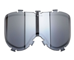 Empire Dual Pane Anti-Fog Ballistic Rated Thermal Lens For X-Ray Masks (Chrome Mirror Gradient) (21458)
