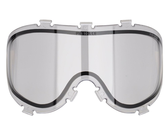 Empire Dual Pane Anti-Fog Ballistic Rated Thermal Lens For X-Ray Masks (Clear)