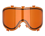 Empire Dual Pane Anti-Fog Ballistic Rated Thermal Lens For X-Ray Masks (Orange) (21455)