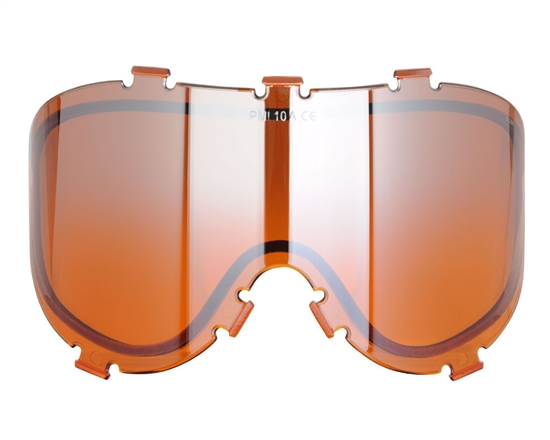 Empire Dual Pane Anti-Fog Ballistic Rated Thermal Lens For X-Ray Masks (Orange Mirror) (21456)