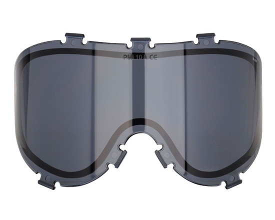 Empire Dual Pane Anti-Fog Ballistic Rated Thermal Lens For X-Ray Masks (Smoke) (21457)