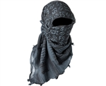 First Strike Full Head Cover Shemagh (Grey/Black)