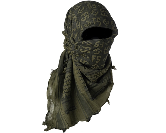 First Strike Full Head Cover Shemagh (Olive)
