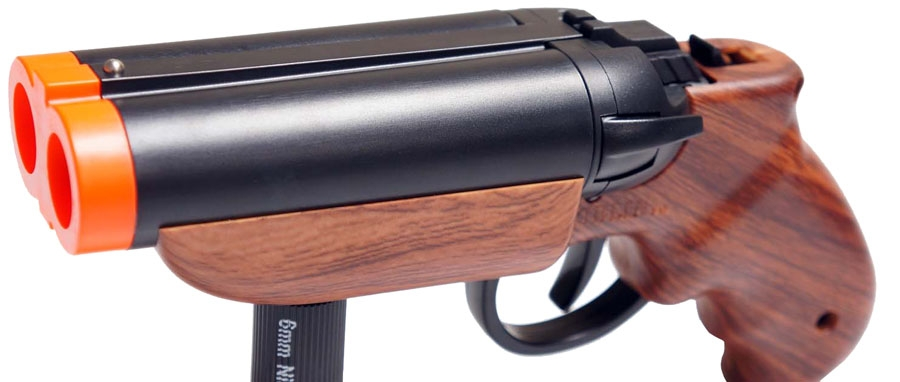 Connu Goblin Deuce Double Barrel Airsoft Pistol Player Set Paintball  RM75