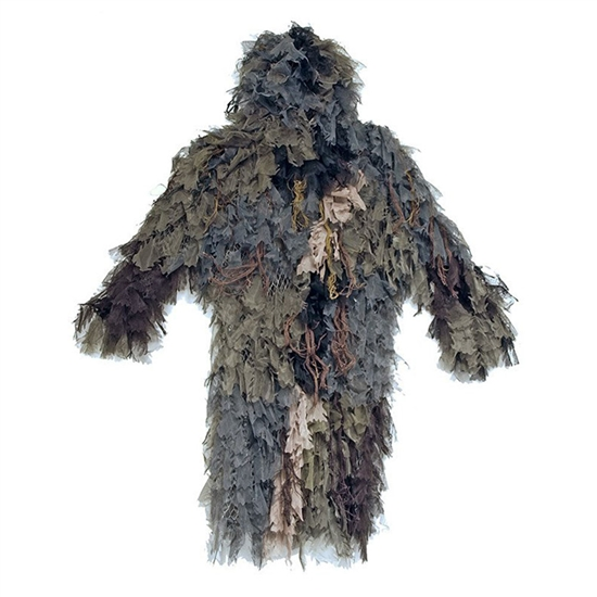Tactical Airsoft Ghillie Suit - Woodland