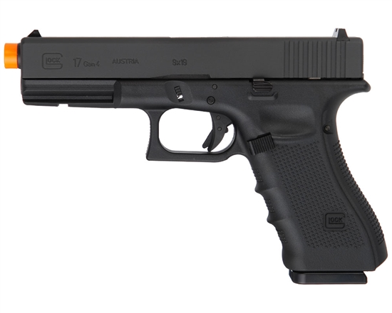 Glock G17 Gen 4 CO2 Airsoft Pistol Blowback Hand Gun - Black (2276309)