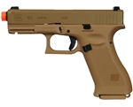 Glock G19X Gas Airsoft Pistol Blowback Hand Gun - Coyote