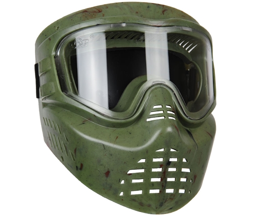 Gen X Global Tactical X-VSN Full Face Airsoft Mask - Olive