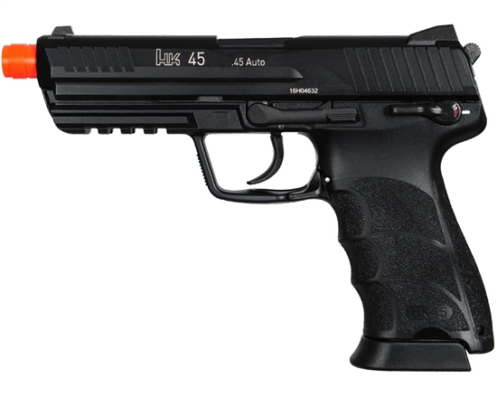 H&K HK45 Gas Airsoft Pistol Blowback Hand Gun - Black