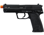 H&K USP CO2 Airsoft Pistol Blowback Hand Gun - Black