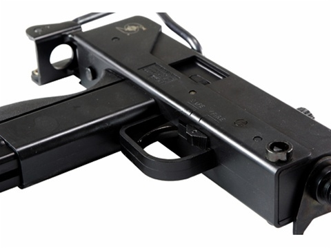 HFC Mac 11 Gas Airsoft Gun Full Metal Blowback Semi/Full Auto SMG Rifle