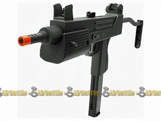 HFC T77 SMG Airsoft Gas Gun Full Metal Blowback Rifle