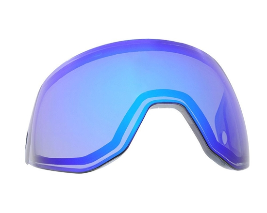 HK Army Dual Pane Anti-Fog Ballistic Rated Thermal Lens For KLR Masks (Arctic Blue)